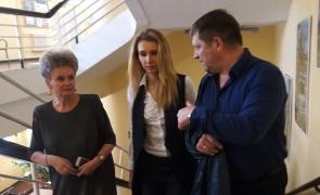 (ВИДЕО) Спортивные перспективы: Черняховск посетила ВРИО зампреда областного правительства Наталья Ищенко