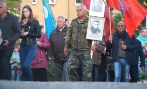 (ВИДЕО) В Черняховске прошла акция «Свеча памяти»