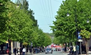 День Победы в Черняховске: торжественное утро, пьяный вечер